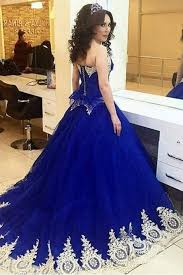 blue quinceanera dresses royal blue quinceanera dress on luulla