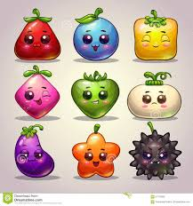 cute cartoon plant characters stock illustration image 57702000