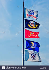 Navy Flag Meanings Flags Of Top To Bottom The U S Army U S Navy U S Marine