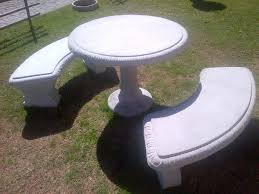 Concrete Garden Furniture Molds by Cement Garden Bench Style U2014 Jbeedesigns Outdoor Make A Cement