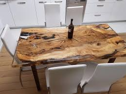 ebay dining room tables unique 6 person epoxy resin table ebay woods metal leather