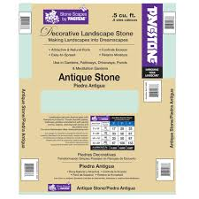 pavestone 0 5 cu ft antique stone 54776v the home depot