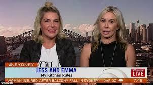 My Kitchen Rules Memes - mkr star emma byron blames dermatitis for swollen lips daily