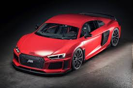 Audi R8 Red - official 2017 abt audi r8 v10 gtspirit