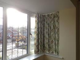 Unique Curtains For Living Room Unique Curtains Curtain Track In Square Bay Window Livingroom