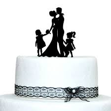family wedding cake toppers family wedding cake topper and groom with girl