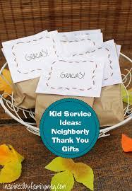 service activity neighborly thank you giftshacked bu josequal