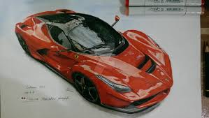 My Laferrari Sketch By Peterlinroc On Deviantart