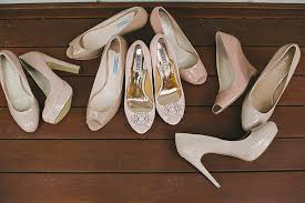 wedding shoes qld jaci and ben s backyard garden wedding polka dot