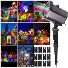 xmas waterproof led lights projectors outdoor decor party garden
