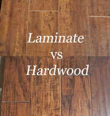 wood vs laminate flooring home design