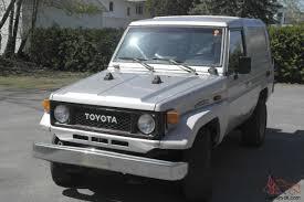 toyota diesel land cruiser bj70 3 4diesel 1987 very rare