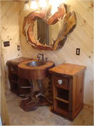 bathroom under mount sink unique bathroom vanity with rustic
