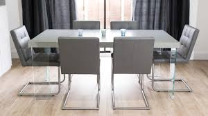 Grey Dining Table Chairs Grey Dining Table Color The Home Redesign