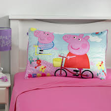 Peppa Pig Toddler Bed Set Peppa Pig 4 Toddler Bedding Set Toys R Us