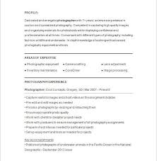 photography resume template videographer resume example freelance