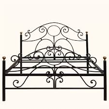 how magnificent artistic impression wrought iron headboard