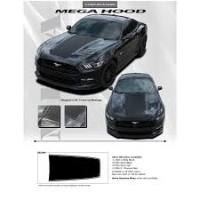 decals for ford mustang 2018 2015 mustang racing stripes mega decal fastcaraccessories