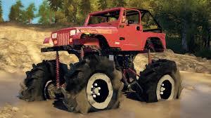 Ford Trucks Mudding Lifted - jeep mega mud truck 4x4 lifted off roading mudding u0026 hill