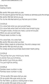 contemporary thanksgiving songs christian worship song lyrics slow fade faith pinterest