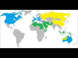 Islam World Map by World War 3 Islam Vs The West Outlook Youtube