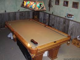 kasson pool table prices oak kasson pool table with leather pockets price 1 995 00 for