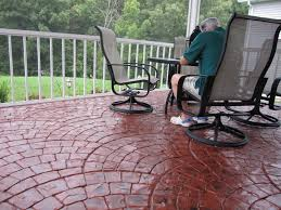 How Much Is A Stamped Concrete Patio by Stamped Concrete Patios Going Beyond Expectations