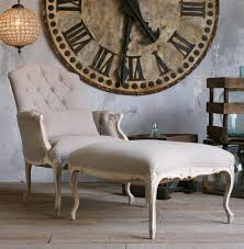Bergere Home Interiors Duchess French Country Bergere Armchair And Ottoman In Gray Linen