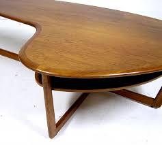 Boomerang Coffee Table 1960 70s Teak Boomerang Coffee Table Hoopers Modern