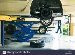 car suspension repair auto center garage service repair stock photos u0026 auto center