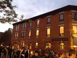 hammer town mulberry street coffee house in downtown hamilton ontario canada