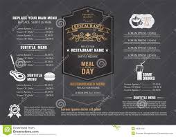menu board design templates free0 copy u2013 best and various templates
