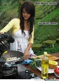 Woman Kitchen Meme - wife woman kitchen by wuzaabee meme center