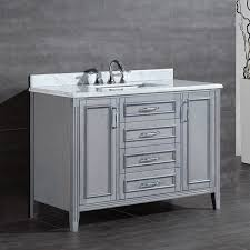 72 Inch Single Sink Bathroom Vanity Ove Decors Daniel 48 Inch Single Sink Bathroom Vanity With Marble