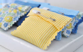 Yellow Stripe Pattern Diy Baby Shower Favors Handmade High Quality