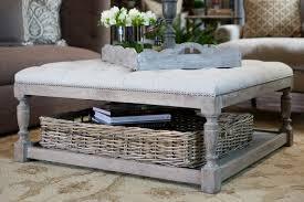 Cushioned Ottoman Wonderful Large Upholstered Footstool 12 Brilliant Cushioned