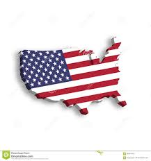 Usa Map Vector by 3d Map Of Usa Aka United States Of America In A Shape Of Us Map