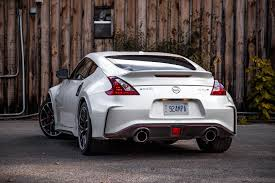 nissan 370z nismo stance exhaust notes 2018 nissan 370z nismo canadian auto review
