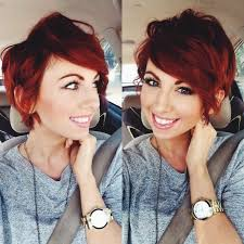 recent tv ads featuring asymmetrical female hairstyles red hairstyles for short hair hair world magazine