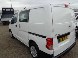 nissan nv200 white used commercial vehicles nissan nv200 acenta king u0027s lynn