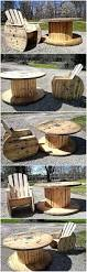 Patio Furniture Pallets by Reclaimed Cable Reel Pallets Patio Furniture Set Wood Pallet
