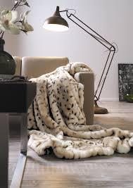 Faux Fur Throw Grey Luxury Leopard Faux Fur Throw Blanket U2014 Ibena Shop Cozy Blankets