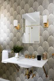 Gold Bathroom Decor by Wallpaper 101 Your Ultimate Guide To Statement Walls Wallpaper