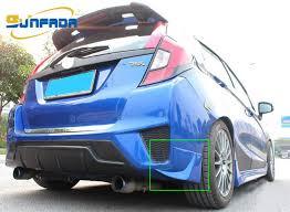 honda jazz car cover sunfada sports style abs rear bumper corner protector edge