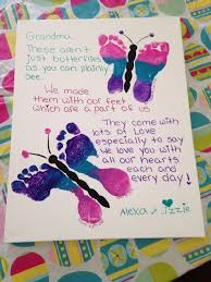 gift ideas for mom birthday mother s day idea butterfly footprints with a special poem this