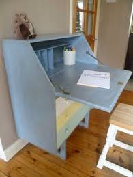 Shabby Chic Writing Desk by Hand Painted Shabby Chic Bureau Writing Desk Writing Desk