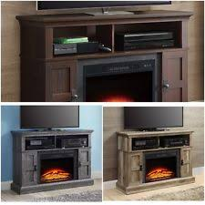 Rustic Electric Fireplace Fireplaces With Remote Control Ebay