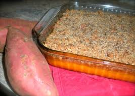 thanksgiving yam casserole dairy free egg free and paleo