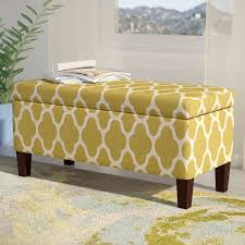 chastity upholstered storage ottoman u0026 reviews joss u0026 main