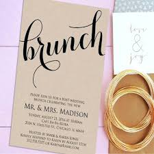 brunch invitation wording idea post wedding brunch invitations for front 88 post wedding